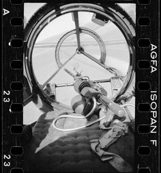 FW-189. Gunner view.