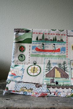 girl scouts #vintage-  for girl scouts quilt