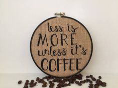 coffee sign, burlap sign, home decor, coffee bar