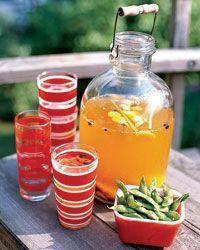 Saffron Cooler Recipe from Food & Wine