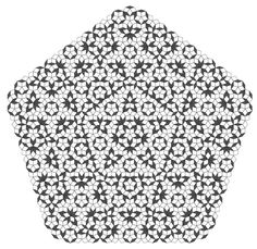 Penrose tilings are an example of the non-periodic tilings discussed in the last post. Recall that these are tilings that cover the entire infinite plane leaving neither gaps nor overlaps. Whats nice about these tilings is that the set of tiles used to construct the Penrose tilings only consists of two different basic shapes consisting of quadrilaterals.