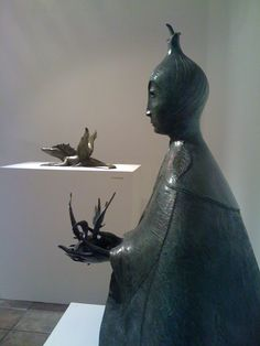 Sculpture of Leonora Carrington