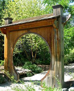 Moon Gate..  Denver Botanic Garden, Colorado