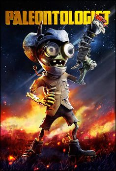#PvZGW a zombie 65 million years in the making.