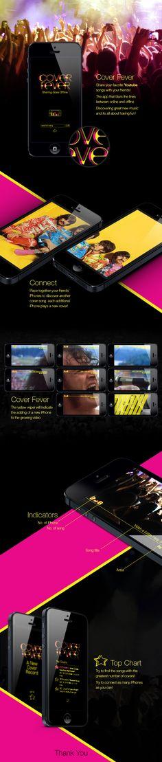 Cover Fever by Katya German, via Behance