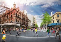 Rundle Mall Redevelopment   Adelaide Australia   HASSELL