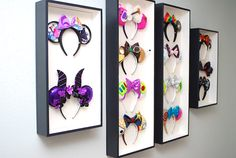 Disney Home Decor, Disney Diy, Disney Crafts, Disney Stuff, Disney Magic, Disney Shadow Box, Disney Rooms, Disney House, Disney Mouse Ears
