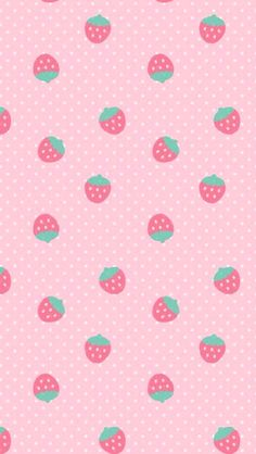 ✿Strawberries iPhone5 Wallpaper.