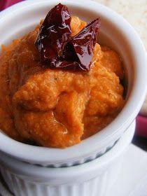 szeretetrehangoltan: Aszalt paradicsomos csicserikrém Curry, Meat, Chicken, Ethnic Recipes, Food, Curries, Essen, Meals, Yemek