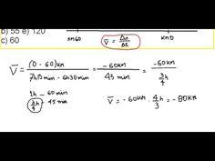 Física Cinemática velocidade média Como calcular a média da velocidade https://youtu.be/UkzxxMpu-sE