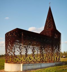 Pieterjan Gijs and Arnout Van Vaerenbergh's Church in Borgloon, Belgium : Architectural Digest
