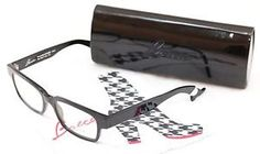 Face A Face Authentic Eyeglasses Frame Bocca Smoking 2 100 Black Plastic Italy  | eBay