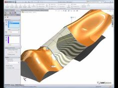Complex Shapes in SolidWorks using Solids and Surfaces - YouTube