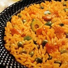 Arroz Con Gandules is a traditional Puerto Rican dish. It& usually made for special occasions. - Arroz Con Gandules (Rice and Pigeon Peas) Pea Recipes, Rice Recipes, Mexican Food Recipes, Cooking Recipes, Ethnic Recipes, Recipies, Dinner Recipes, Couscous Recipes, Puerto Rican Dishes