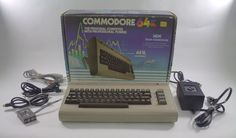 Commodore 64 PC Personal Computer in Box Tested & Working