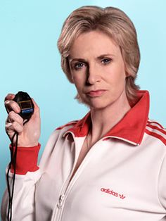 jane lynch as Coach Sue Sylvester from Glee