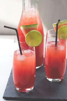 Rezept für Wassermelonen-Limo - Die wohl erfrischendste Limonade des Sommers!