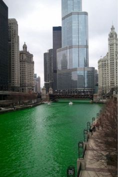 chicago 'green' river