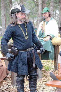 LOOK AT HIS CHAIN!!!!! Sherwood Forest Faire 2015