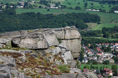 The Cow & Calf rocks