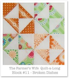 Farmer's Wife Quilt-a-Long - Block 11 by Happy Zombie, via Flickr