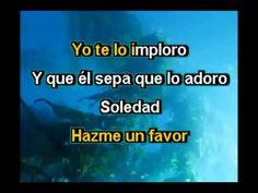 Gloria Trevi - El favor de la soledad (karaoke)