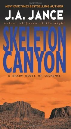 Skeleton Canyon  ($1.99) - This is another great book in the Joanna Brady series by J.A. Jance. - I've enjoyed Jance's Joanna Brady Mysteries. - J.A. Jance's writing is clear and concise and the characters well drawn. http://www.amazon.com/exec/obidos/ASIN/B000FC1TB2/electronicfro-20/ASIN/B000FC1TB2