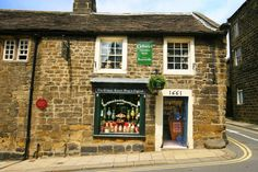 The Oldest Sweet Shop in England (Est. Pateley Bridge, North Yorkshire Officially the Oldest Sweet Shop in the world as validated by Guinness World Records in its publication in Yorkshire England, Yorkshire Dales, North Yorkshire, England Ireland, England And Scotland, Places Of Interest, British Isles, Great Britain, Places To Visit
