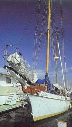 The Harmony. Dennis Wilson's boat.