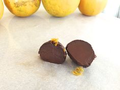 paleo chocolate truffle-orange