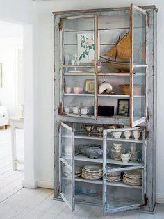 Countrykøkkenet - Udstil det flotte porcelæn