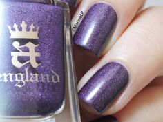Nailpolis Museum of Nail Art | A England Lady of the Lake Swatch by Marine Loves Polish