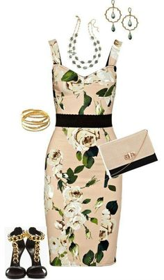 Spring / Summer wedding outfit