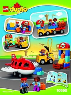 View LEGO instructions for Airport set number 10590 to help you build these LEGO sets