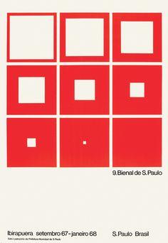 9ª Bienal de São Paulo/Cartaz: Goebel Weyne.