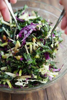 crunchy kale salad recipe