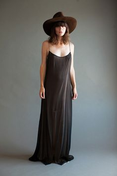 A vintage piece from the 90's: Anjelica Huston's Reem Acra Slip Dress (available for purchase!)