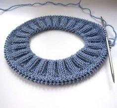 Diy Crafts - Imitation of the extension crochet description Sweater Knitting Patterns, Easy Knitting, Knitting Stitches, Knitting Socks, Knitting Needles, Knit Patterns, Stitch Patterns, Knitted Hats, Knit Crochet