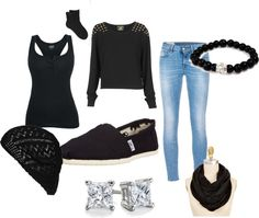 """""""winter"""" by caramell-cxix ❤ liked on Polyvore"""