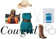 """Cowgirl"" by emily-pearce on Polyvore"