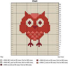 Owl Dishcloth | Yarn | Free Knitting Patterns | Crochet Patterns | Yarnspirations