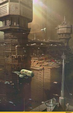 Thomas visscher,красивые картинки,art,арт,Sci-Fi