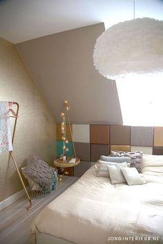 Slaapkamer Bedroom JONGInterieur.nl koper mint | Slaapkamer Bedroom ...
