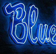 blue word