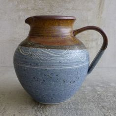 Australia Studio Pottery Jug, Most Likely by Bronwyn Clarke Murramarang Pottery