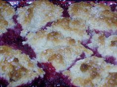 Mom's Raspberry Cobbler. This is my favorite cobbler recipe so far.  It was great!
