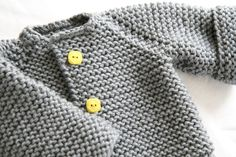 Baby purl jumper