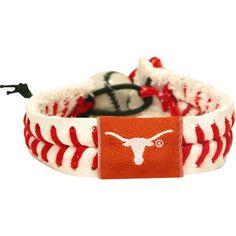 NCAA Texas Longhorns Classic Baseball Bracelet