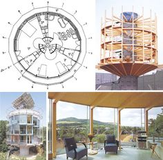Spinning Solar-Powered Round House Rotates with the Sun  http://dornob.com/spinning-solar-powered-round-house-rotates-with-the-sun/