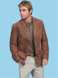 Frontier Leather Blazer